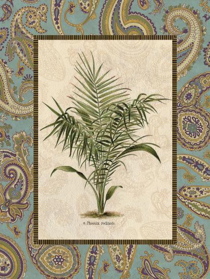 Paisley Palm IV--Art Print