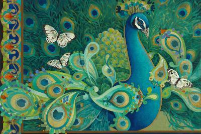 Paisley Peacock-David Galchutt-Giclee Print