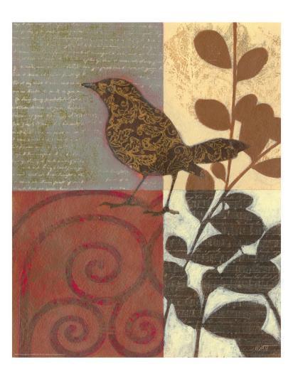 Paisley Sparrow-Norman Wyatt Jr^-Art Print
