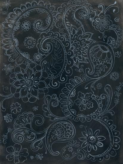 Paisley Swirl-Danhui Nai-Art Print