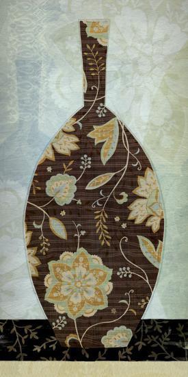 Paisley Vase II-Yuko Lau-Art Print