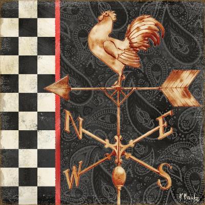 Paisley Weathervanes II-Paul Brent-Art Print