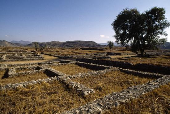 Pakistan, View of Excavations of Ancient Sirkap Archaeological Site of Today's Taxila--Photographic Print