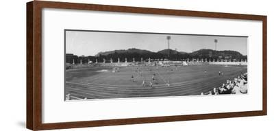Pakistan Vs. Australia During Field Hockey at Olympics--Framed Premium Photographic Print