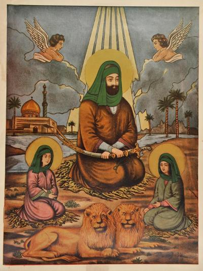 Pakistani Folk Print--Giclee Print