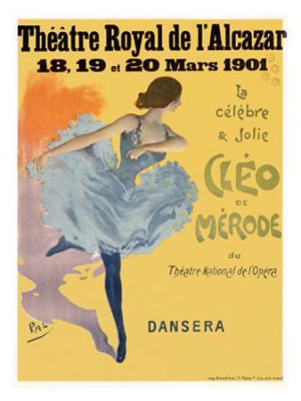 Cleo de Merode by PAL (Jean de Paleologue)