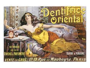 Dentifrice Oriental by PAL (Jean de Paleologue)