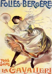 Folies-Bergere, La Cavalieri by PAL (Jean de Paleologue)