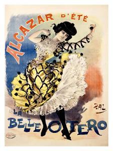 La Bella Otero, Alcazar d'Ete by PAL (Jean de Paleologue)