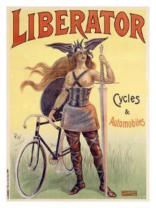 Liberator Cycles and Automobiles by PAL (Jean de Paleologue)
