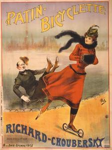 Patin-bicyclette - Richard-Choubersky, 1890 by Pal