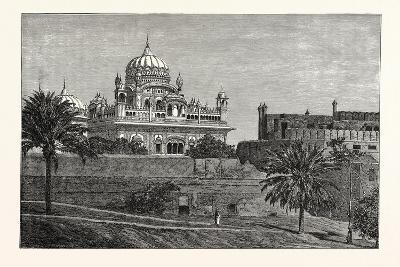 Palace at Lahore, India--Giclee Print