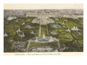 Palace at Versailles, France