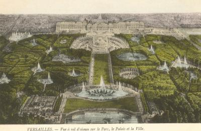 Palace at Versailles, France