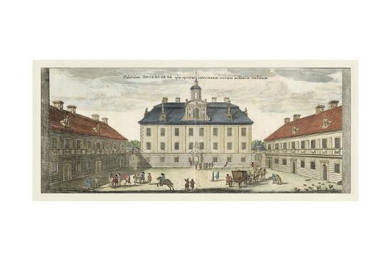 Palace Courtyard-Eric Dahlbergh-Art Print