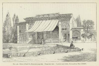 Palace of Bash No, Shiraz, Perspective View--Giclee Print