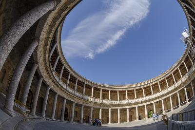 Palace of Charles V, Alhambra, Granada, Province of Granada, Andalusia, Spain-Michael Snell-Photographic Print