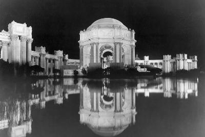 Palace of Fine Arts at the Panama-Pacific Internatonal Exposition--Photographic Print