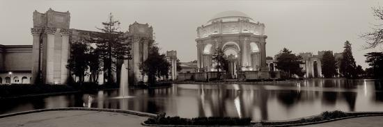 Palace Of Fine Arts Pano #4-Alan Blaustein-Photographic Print