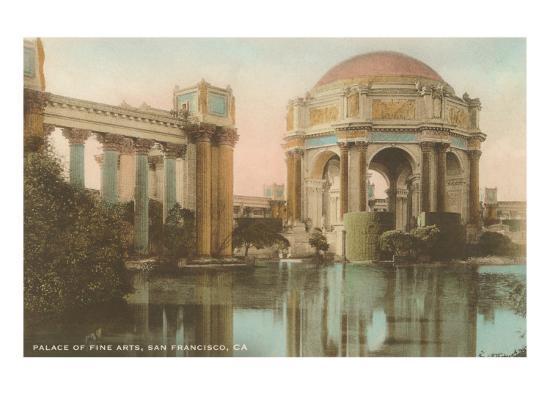 Palace of Fine Arts, San Francisco, California--Art Print