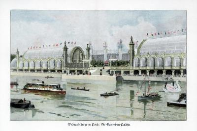 Palace of Horticulture, Paris World Exposition, 1889-Ewald Thiel-Giclee Print
