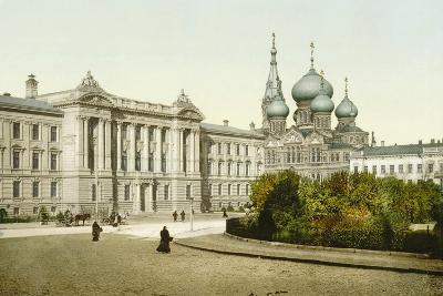Palace of Justice and Church of St Panteleimon Monastery, Odessa, Russia, C1880S-C1890S--Giclee Print