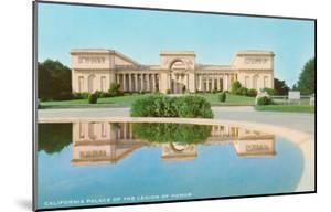 Palace of Legion of Honor, San Francisco, California