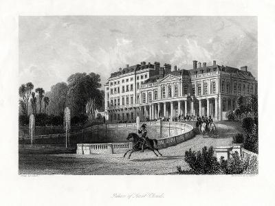 Palace of Saint-Cloud, Paris, France, 1875-Henry Adlard-Giclee Print
