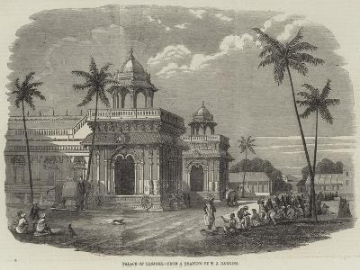 Palace of Tanjore--Giclee Print