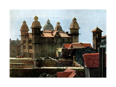 Palace of the Ex-First Minister, and the Barracks of the Marines, Madagascar, Late 19th Century- Gillot-Giclee Print