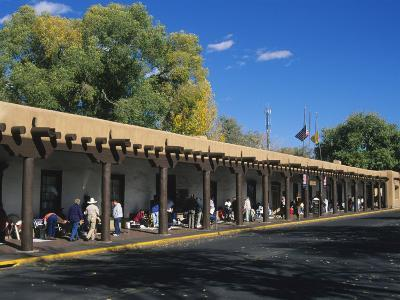 Palace of the Governors, Santa Fe, New Mexico, USA-Michael Snell-Photographic Print