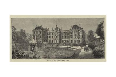 Palace of the Luxembourg, Paris--Giclee Print