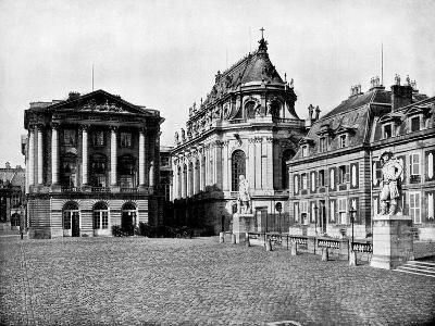 Palace of Versailles, France, 1893-John L Stoddard-Giclee Print