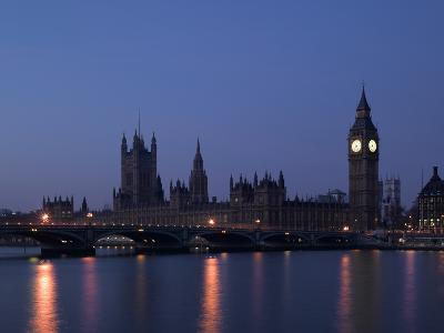 Palace of Westminster, Pre Dawn, London-Richard Bryant-Photographic Print