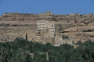 Palace on a Cliff, Rock Palace, Dar Al-Hajar, Wadi Dhahr, Yemen