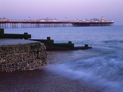 Palace Pier, Brighton, East Sussex, England, UK-Jon Arnold-Photographic Print