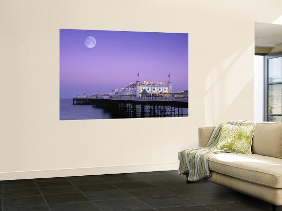 Palace Pier, Brighton, East Sussex, England-Rex Butcher-Wall Mural