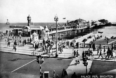 Palace Pier, Brighton, Sussex, Early 20th Century--Giclee Print
