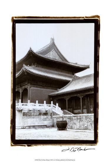 Palace Rooftops, Beijing-Laura Denardo-Art Print