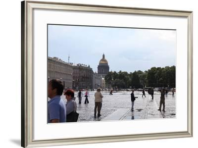Palace Square, St Petersburg, Russia, 2011-Sheldon Marshall-Framed Photographic Print