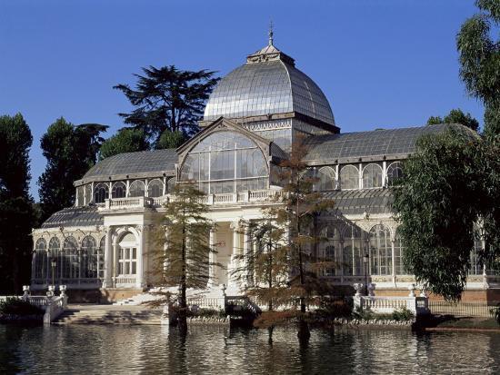 Palacio De Crystal, Madrid, Spain-Upperhall-Photographic Print