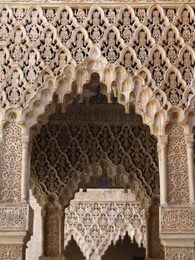 Palacio De Los Leones, Nasrid Palaces, Alhambra, UNESCO World Heritage Site, Granada, Andalucia, Sp-Godong-Photographic Print