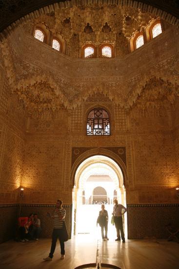 Palacio De Los Leones, One of the Three Palaces That Forms the Palacio Nazaries, Alhambra-Yadid Levy-Photographic Print
