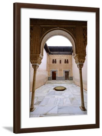 Palacios Nazaries, the Alhambra, Granada, Andalucia, Spain-Carlo Morucchio-Framed Photographic Print