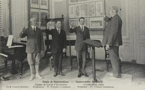 Palais de Fonfainebleau, Conservatoire américain : Classe des chefs d'orchestre Professeur Francis