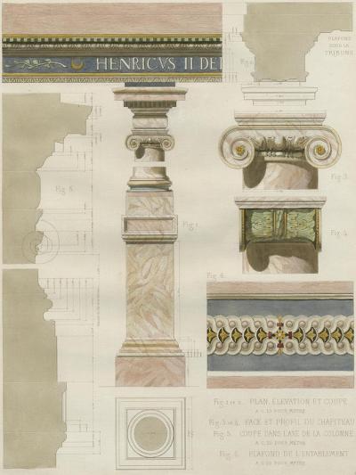 Palais de Fontainbleu I-Rod Pfnor-Art Print