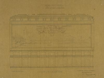 Palais de Justice de Paris, Grand Chambre de la Cour de Cassation,-Ernest Georges Coquart-Giclee Print