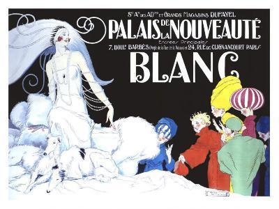 Palais de la Nouveaute, Blanc-Ren? Vincent-Giclee Print