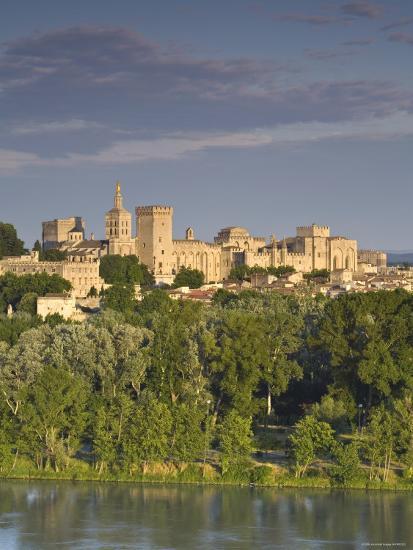 Palais Des Papes, Avignon, Provence, France-Doug Pearson-Photographic Print
