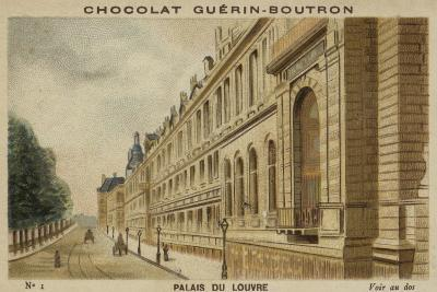 Palais Du Louvre--Giclee Print